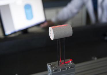 Installation d'un plug à scanner en 3D pour déterminer un volume, CSTJF.