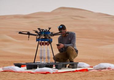 Installation and preparation of the METIS pilot in the desert of Abu Dhabi