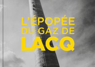 """Première de couverture du livre """"L'épopée du gaz de lacq"""""""