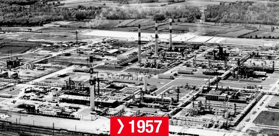Frise chronologique du CSTJF - 1957<