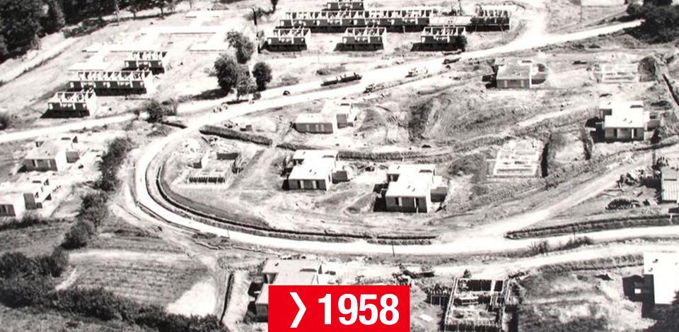 Frise chronologique du CSTJF - 1958