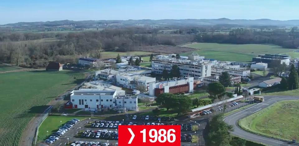 Frise chronologique du CSTJF - 1986